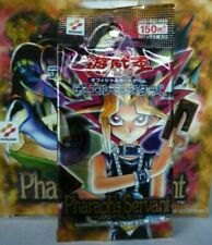 YUGIOH PHARAOH'S SERVANT BOOSTER JAPANESE U.RARE SEALED PACK UNOPENED JAPAN X1