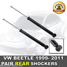 VW BEETLE 1.6 REAR SHOCK ABSORBERS NEW 1999 > 2011 (PAIR) SHOCKS SHOCKERS