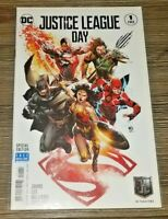 Justice League #1 - Justice League Day Variant Jim Lee Geoff Johns DC NM New 52