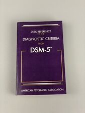 Brand New! Desk Reference To The Diagnostic Criteria From Dsm-5 - Softcover