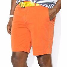 Polo Ralph Lauren Staright fit ocean wash claasics resort orange shorts sz38 $89