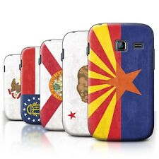 Back Case/Cover/Skin for Samsung Galaxy Y Duos/S6102/Vintage USA State Flag