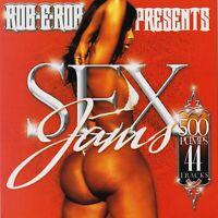 DJ ROB E ROB SEX JAMS VOL 1 RNB SLOW JAMS CLASSIC R&B MIXTAPE Promo MIX CD