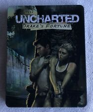 UNCHARTED Drake's fortune PS4 Steelbook Case (No Game) New