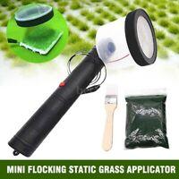 ABS Mini Flocking Machine Static Grass Applicator with Antiskid Handle US J0T7