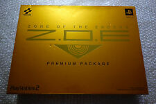 BRAND NEW Z.O.E Zone of the Enders Premium Package Playstation2 Japan