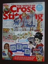 World Of Cross Stitching, October 2009, Delftware Cards, Oriental Design