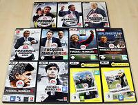 PC SPIELE SAMMLUNG EA FIFA FUSSBALL MANAGER 2002 2003 - 10 11 KOMPLETT - (13 14)