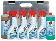 SOTIN Haushalts-Reinigungs- und Pflegebox im praktischen Kunststoffkoffer