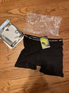 Louis Garneau Women's Base Layer Size XL New NWT Black DryFlex Mini Chamois