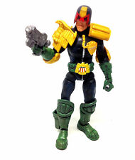 "Legendary Heroes 2000AD Comics Judge Dredd 6"" Action figure toy with Gun, RARE"