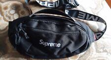 NEW SS18 SUPREME WAISTBAG RIÑONERA POUCH Black CORDURA fanny pack bolso