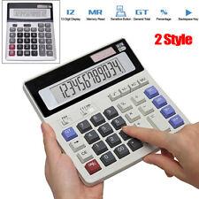 Standard Function Desktop Calculator Big Button 12 Digit for Daily Basic Office