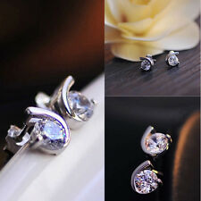 Korea Act The Role Ofing Is Tasted Earrings Ear Stud Silver Plated Jewelry