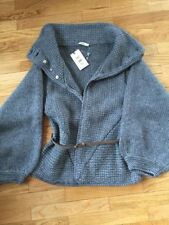 Cotton Blend Sweatercoat Machine Washable Jumpers & Cardigans for Women