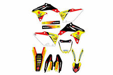 Suzuki RMZ450 08-16 graphic kit stickers 2008 to 2016 decal graphic kit pegatina
