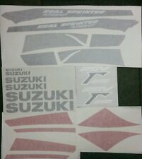 SUZUKI RG250J RG250 VJ21  REAL SLINGSHOT  FULL PAINTWORK DECAL KIT
