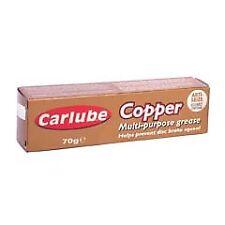 Copper Grease Multi Purpose High Performance Carlube 70g Long Lasting XCG070