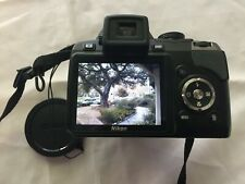 Nikon Coolpix P80 10.1MP 18x optical zoom w/ battery,charger,strap,lens cap,CD