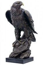 Bronzeskulptur Adler im Antik-Stil Bronze Figur Statue 51cm