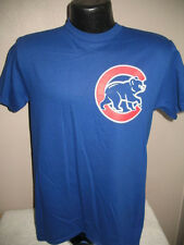 MLB Chicago Cubs Baseball Kris Bryant #17 Jersey Tee Shirt Majestic Blue Nwt