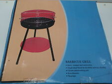 HOMEART BARBEQUE CHARCOAL PORTABLE GRILL RED