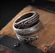 Slavic Viking Pagan Snake Ring Size M