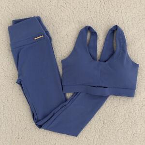 BNWT Gymshark x Whitney Simmons Beautiful Blue Set Bra & Leggings M Medium