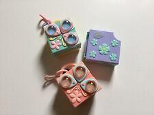 Littlest Tiny Petshop Play Set Collector Compact Box Habitat Hasbro LOT of 3