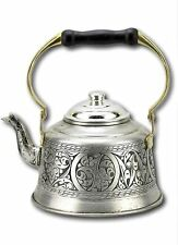 Turkish Handmade Teapot, 1 mm Thickness Kettle ,Teapot Black Wooden Handle 1,6 L