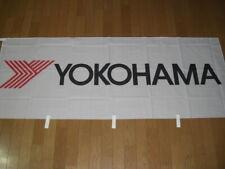 YOKOHAMA Nobori White Official New Flag Rare from Japan