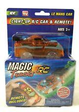 Magic Tracks Light-Up R/C Car & Remote w/ Sound Effects LE MANS CAR BRAND NEW