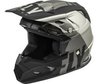 Fly Racing Helmet Toxin Transfer Mips Matte Grey Black Offroad, Moto, Atv, Dirt