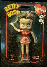 "Betty Boop Bendable Poseable 6"" Car Hop Doll -New in Packaging"
