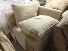 Pottery Barn Comfort Sofa Sectional CORNER BOX POLY cushion cover Honey Canvas