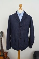 WOOLRICH Blue Hunting Jacket £320 Mens Size Large 40 50 Blazer Mr Porter Coat