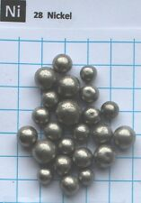 80 Gram 99,9% Nickel metal spheres element 28 sample