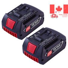 2Pack 18V 4 0Ah Replacement Battery for Bosch Lithium Bat620 Bat609 Bat609g B...
