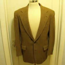 Jos A Bank Mens Brown Tweed Camel Hair Blazer Sport Coat Mens US size 40 R