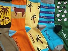 Surf and Turf (Free Shipping) Fredrick Harold,   Funky, Colorful Socks