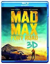 Mad Max: Fury Road [ Blu-ray 3D + Blu-ray ] (Bilingual) - Brand New - Rare