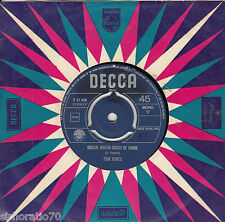 TOM JONES Green, Green Grass Of Home / If I Had You 45