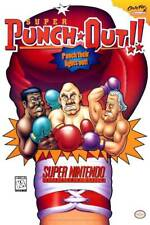Super Punch Out 1994 Nintendo POSTER SNES Video Game Arcade Rare Large