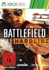 Battlefield: Hardline (Microsoft Xbox 360, 2015, DVD-Box)  UKS: 18  (Me15)