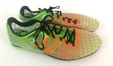 New Balance Men's Track Running Spike Shoes Lime Green Orange Size 12 MLD5000G