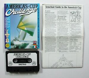 vintage amstrad game amstrad games amstrad game amstrad Americas Cup Challenge