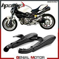 Pot D'Echappement Hp Corse Hydroform Blk Ducati Monster 696 796 1100 2007 > 2014