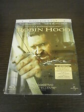 ROBIN HOOD FILM IN BLU-RAY NUOVO DA NEGOZIO ANCORA INCELLOFANATO PREZZO AFFARE!!