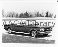 1964 Chevrolet Corvair Monza Spyder Convertible, Factory Photo (Ref. # 35223)