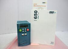 (NEW) SSD 650 Series AC Drive Control Unit 650/007/230/F/00/DISP/GR/00